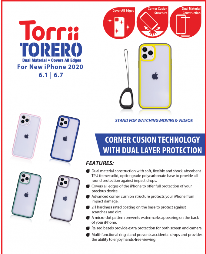 Corner Cushion Technology With Dual Layer Protection